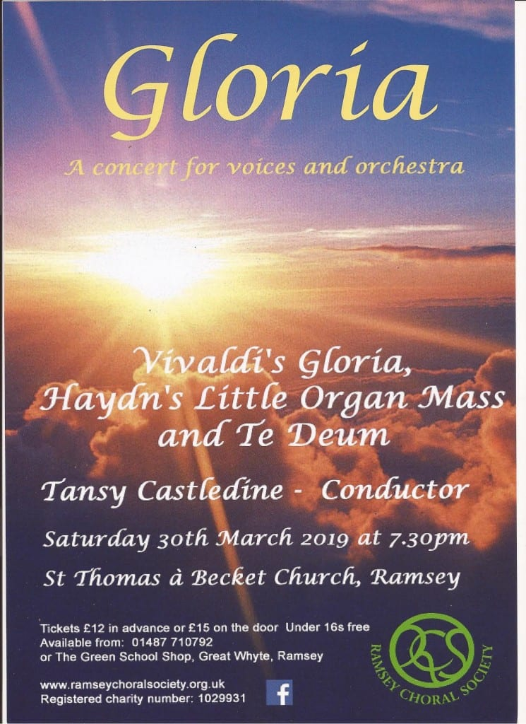 Ramsey Choral Society - Concert