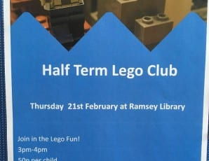 Half Term Lego Club