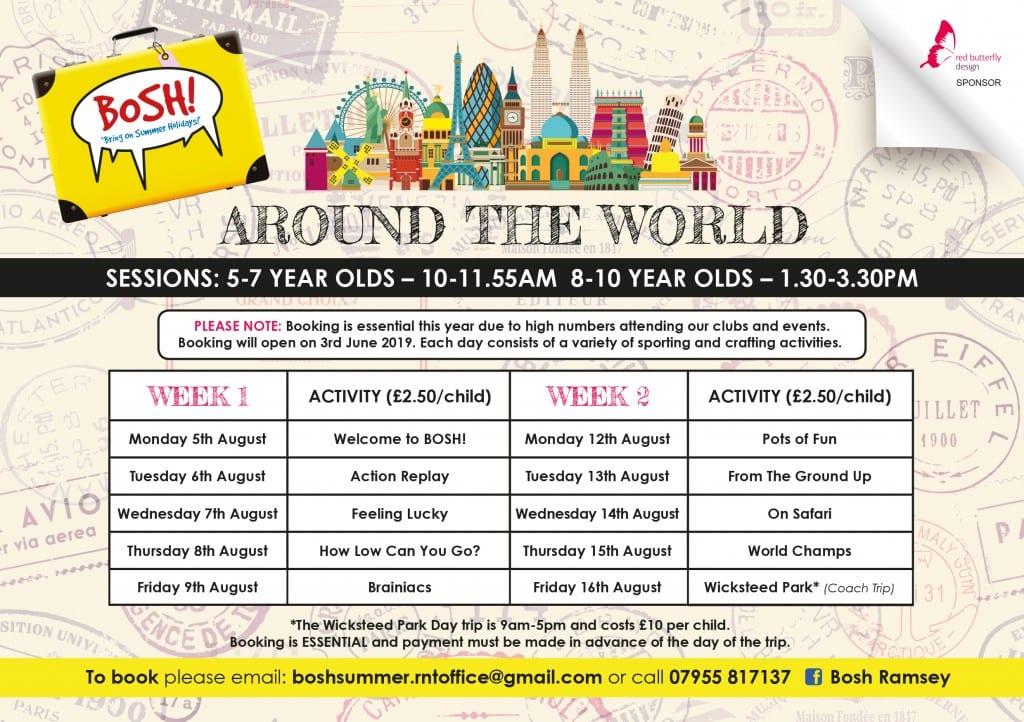 BOSH! Around the World - Summer Fun! - From the ground up