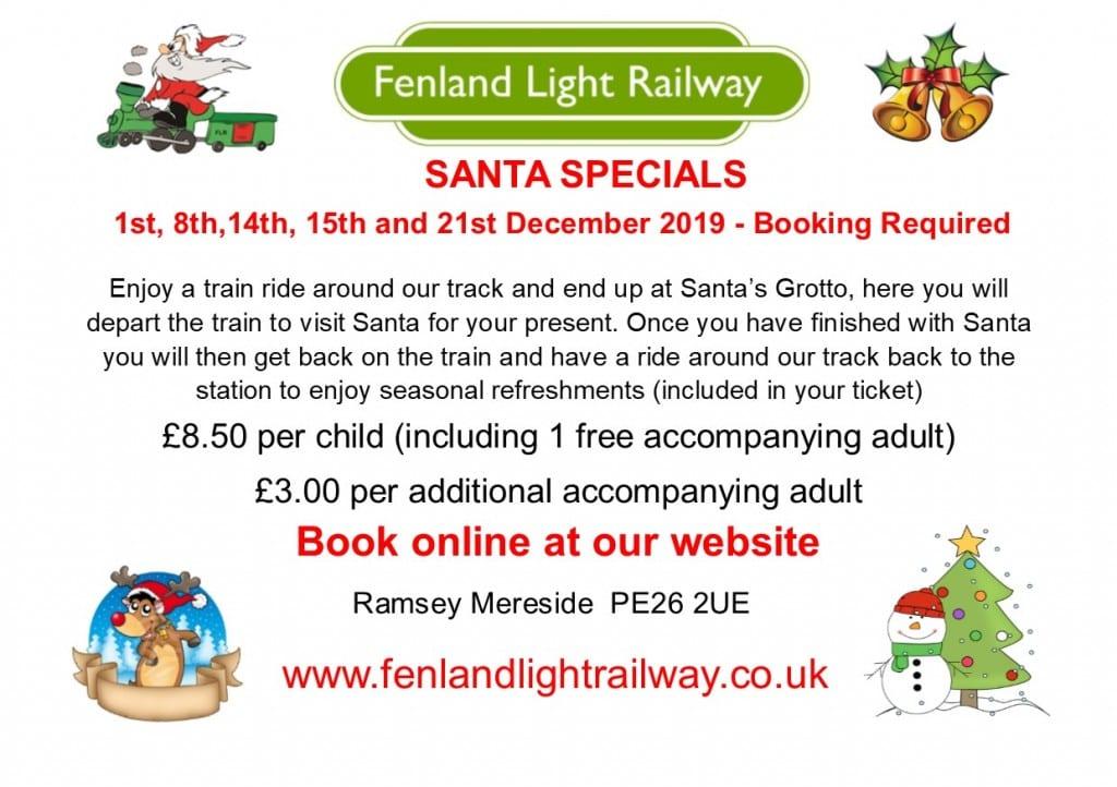 Fenland Light Railway - Santa Specials