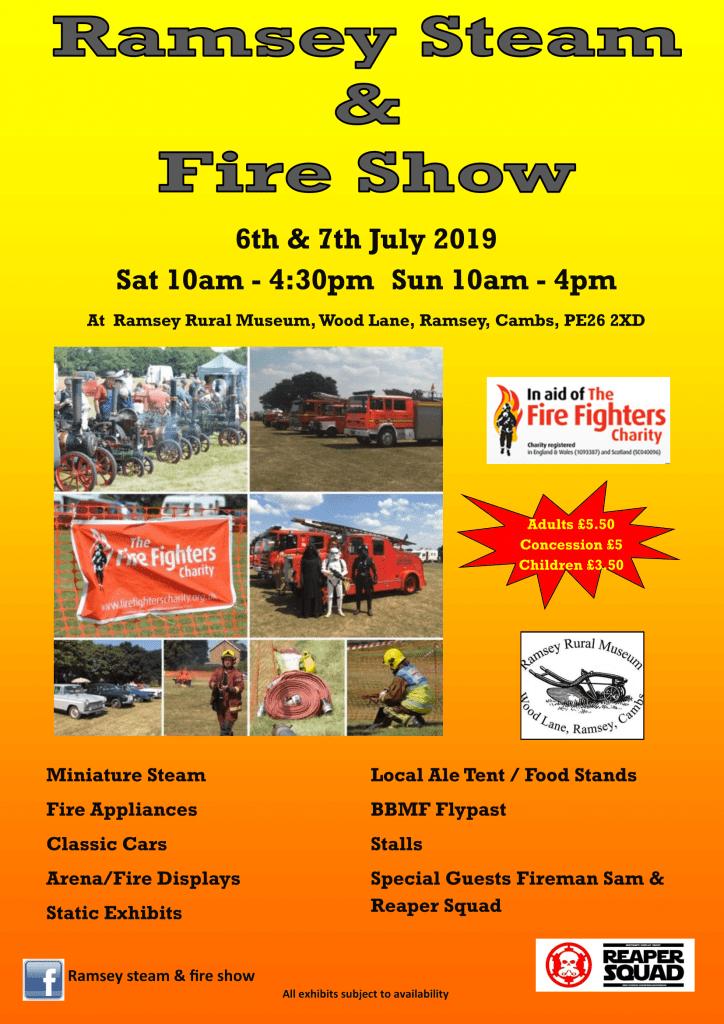 Ramsey Rural Museum - Steam & Fire Show