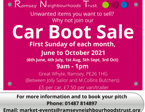 Great Whyte Car Boot Sale